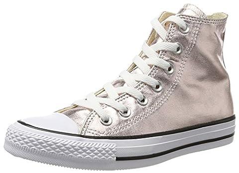 Converse 157628c, Baskets Hautes Femme, Rose (Rose Quartz/White/Black), 37 EU
