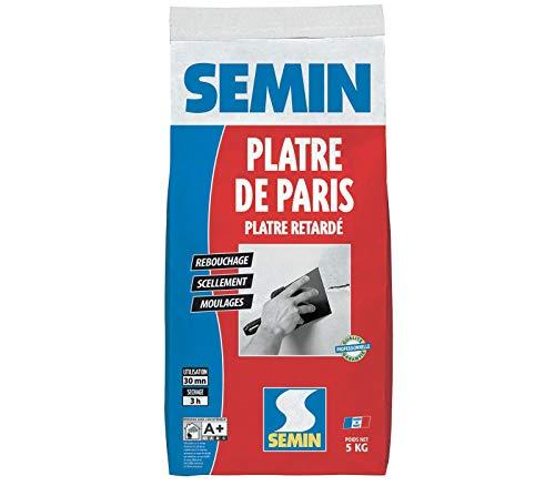 Semin A00324 - Yeso de París para molduras, sellos y retapas, interior,...
