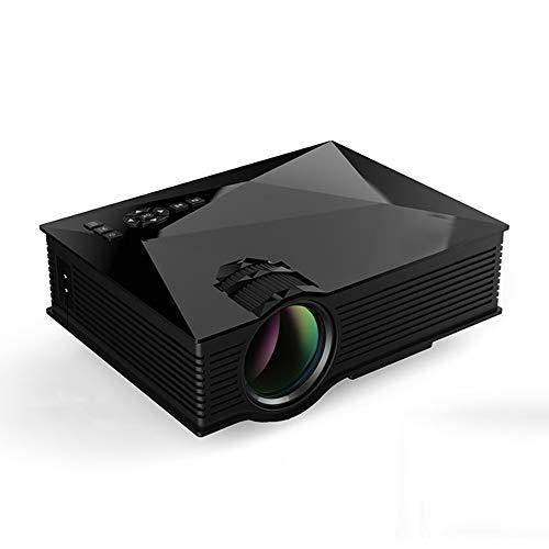 Mini-Projektor UC46 + 40ANSI 800x400 Heimkino Multimedia HD 1080P LED Projektor, Unterstützung USB/SD/HDMI/VGA/IR