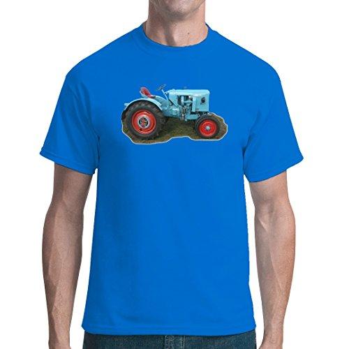 Traktoren unisex T-Shirt - Traktor Eicher by Im-Shirt - Royal M