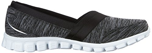 Skechers Ez Flex 2 Fascination, Ballerine Donna, Various Nero (Nero (Bkw))