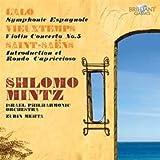 Lalo - Symphonie espagnole / Saint-Saëns - Introduction et rondo capriccioso / Vieuxtemps - Concerto pour violon nº 5