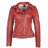 Gipsy by Mauritius Damen Lederjacke Famos LAOSV in Rot (L, Rot)