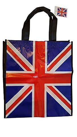 Union Jack Shopper Bag – Tote Reusable Bag / British
