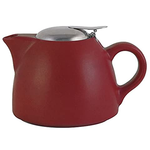 La Cafetière Barcelona Teapot with Infuser 450ml (Red)