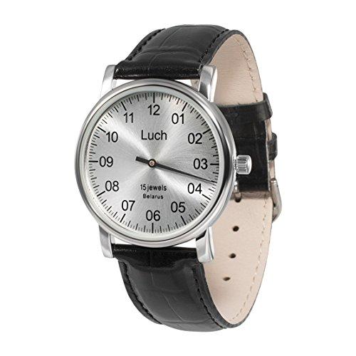 Luch Single Hand Mechanische Armbanduhr 37471762 - 4