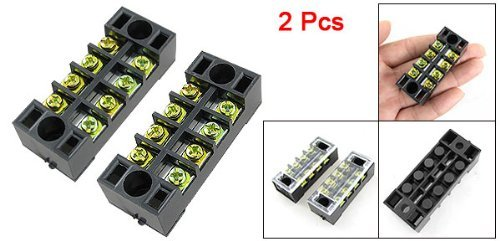 sodialr-2-pcs-double-row-4-position-covered-screw-terminal-strip-by-gino