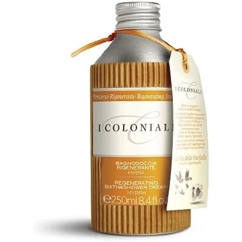 I Coloniali - Crema de Baño y Ducha Regeneradora con Mirra - 500ml - J&E Atkinsons