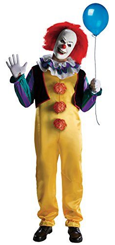 Pennywise Deluxe Clown (IT - The Movie) - Adult Costume Men : X LARGE