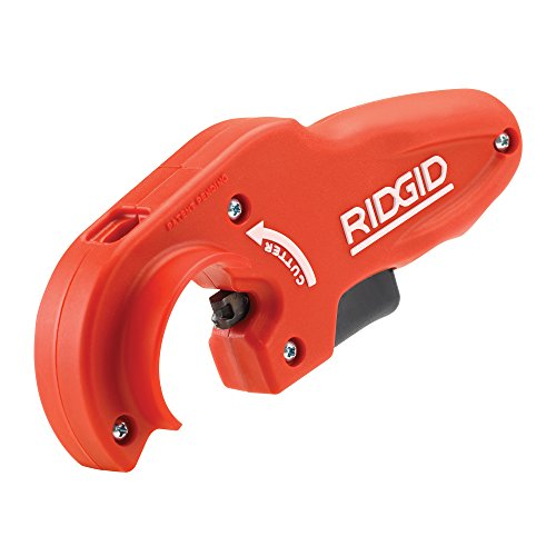 RIDGID 40868 Coupe-tubes pour tuyaux d'évacuation en plastique modèle PTEC 5000, coupe-tubes de 50 mm