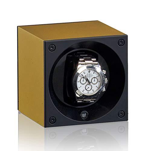 Swiss Kubik Watch Winder Aluminium Gold
