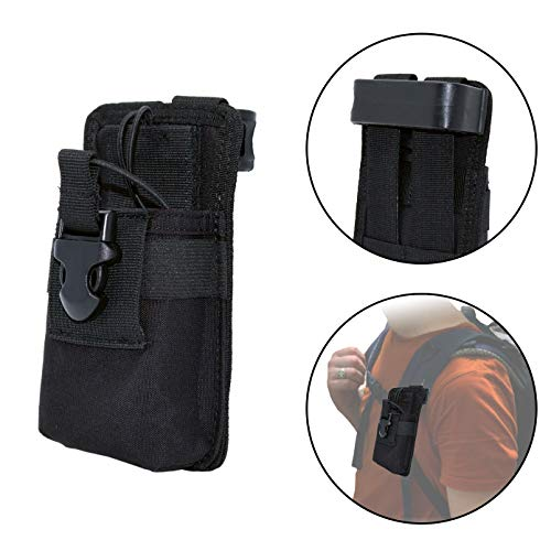 41PpxSP CML. SS500  - Clakit StrapPack Clip-On Pouch for Radio & GPS, Backpack Attachment for Hunters