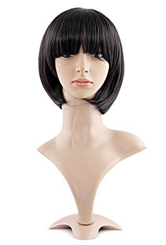 MapofBeauty 12 Pulgada/30cm Lady Popular Natural Peluca