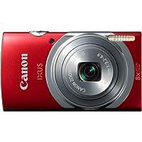 Canon IXUS 150 Digitalkamera (16 Megapixel, Bildstabilisator, 28mm Weitwinkelobjektiv) rot