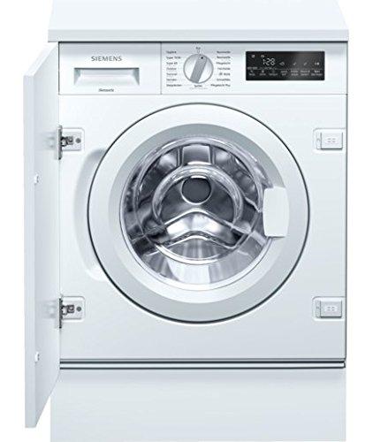 Siemens WI14W440 iQ700 Waschmaschine Frontlader vollintegrierbar/ A+++/ 1400 UpM / 15-Minuten-Schnellprogramm / Anti-vibration Design / AquaStop / WaterPerfect Plus / iQdrive / weiß