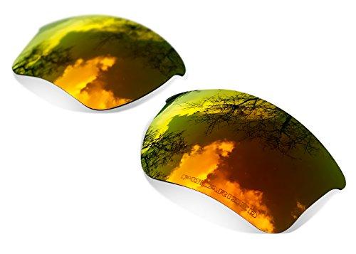 sunglasses restorer Fire Iridium Polarisierte Ersatzgläser für Oakley Half Jacket 2.0 XL