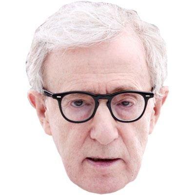 Woody Allen, Celebrity Maske, Gesicht und Kostüm-Maske (Erwachsene Woody Kostüme)