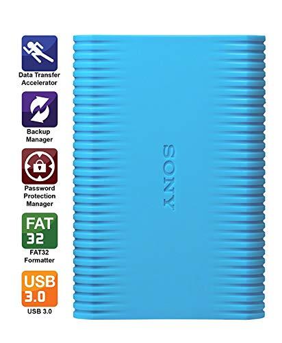 Sony HD-SP1/LC in 1TB External Hard Drive (Blue)