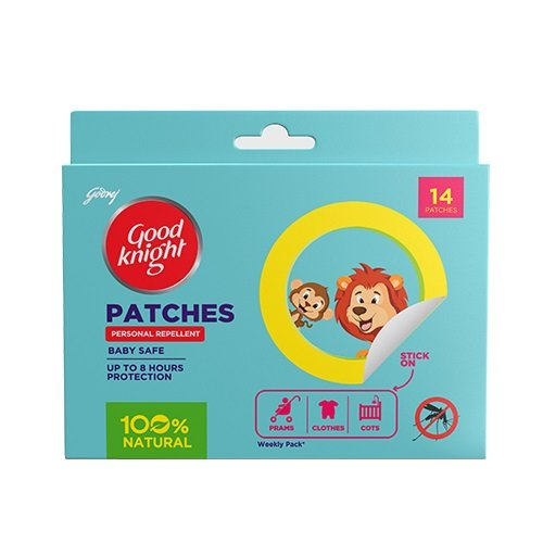 Good knight Patches Personal Mosquito Repellent  available at amazon for Rs.75