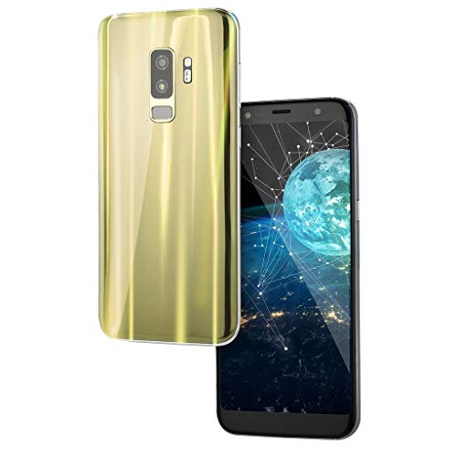 """Smartphone 5.0"""" Ultrathin Android 5.1 Quad-Core 512MB+4GB GSM 3G WiFi Dual SIM Camera Smart Cellphone (Gelb)"""