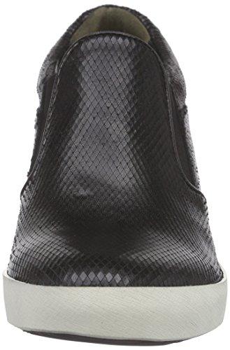 Kennel und Schmenger Schuhmanufaktur Liberty, Baskets compensées  femme Noir - Schwarz (schwarz So. weiss 540)