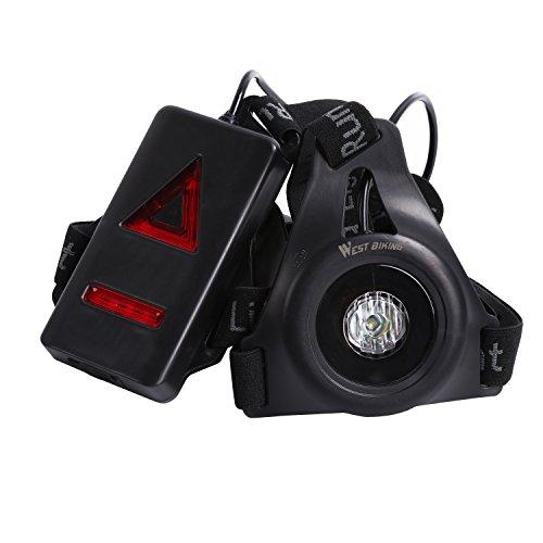 LED Brust flashlight-warning Lichter für Laufen Camping Angeln Jagd Klettern Wanderungen, Jogging (Tagfahrlicht Für Läufer)