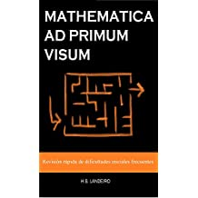 Mathematica ad primum visum: Revisión rápida de dificultades iniciales frecuentes (Spanish Edition)