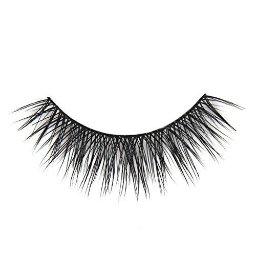 Born Pretty 1 Pair Faux Cils Noirs Epais Croisés Longs Maquillage #D-37