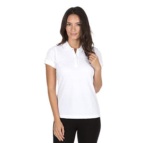 B&C Womens Organic Cotton Polo Shirt Fair Trade Jersey Pique T-Shirt Top