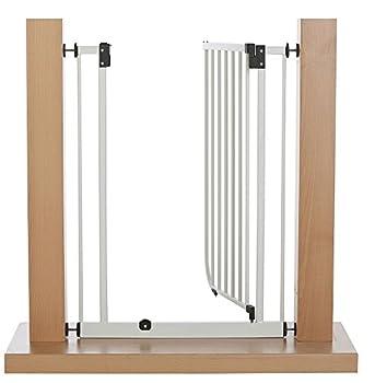 van Hoogen® EasyStep HIGH | très élevé pour les (grands) chiens | Barrières de sécurité 73 - 142 cm | très élevé 107 cm | avec serrage | sans perçage