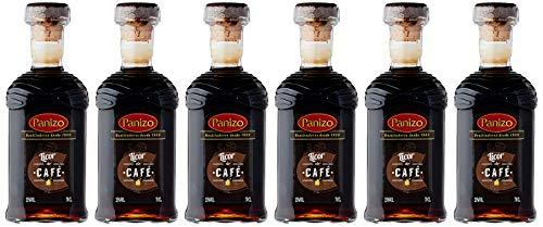 Panizo Licor Café de 30º - Paquete de 6 botellas de 70 - Total 420 cl