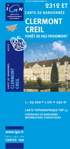 Clermont/Creil/Foret De Hez-Froidmont GPS: IGN.2312ET