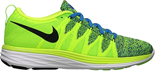 Nike Flyknit Lunar2 Us 6 Rose Running Shoe yellow