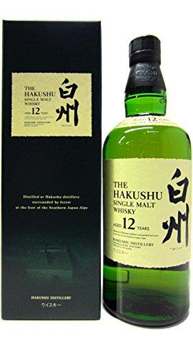 Hakushu 12 Jahre Single Malt Whisky (1 x 0.7 l)