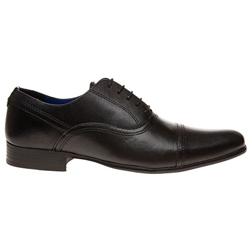 Red Tape Almond Homme Chaussures Noir Noir