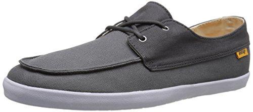 Reef Herren Deckhand Low Sneaker Grau (Charcoal/Grey Cgy)