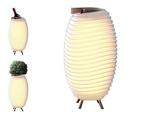 Kooduu Synergy 65 10 W Weiß - Tragbare Lautsprecher (Full range, 10 W), Weiß (Kühler Lautsprecher Mit)