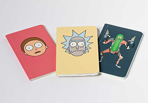 Rick and Morty: Pocket Notebook Collection: Set of 3 (Insight Editions Pock/Journal) por Insight Editions