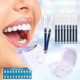 Teeth Whitening Sets,Zahnaufhellung Gel Professionelles Bleaching Zahnbleaching für Weiß Zähne, Effektive Zahnreinigung Und Pflege (White) (White)