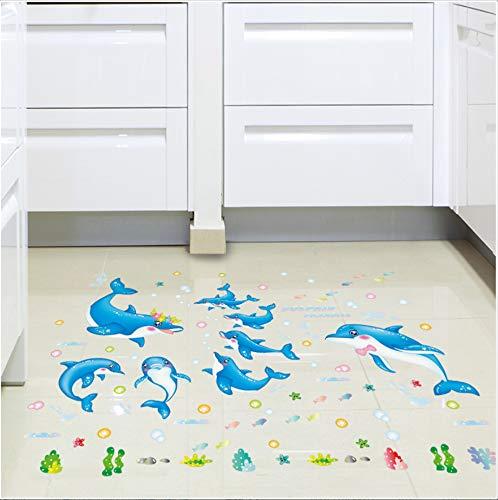 en Klassenzimmer Boden Aufkleber Spiel Wandaufkleber Malerei Wandaufkleber B ()