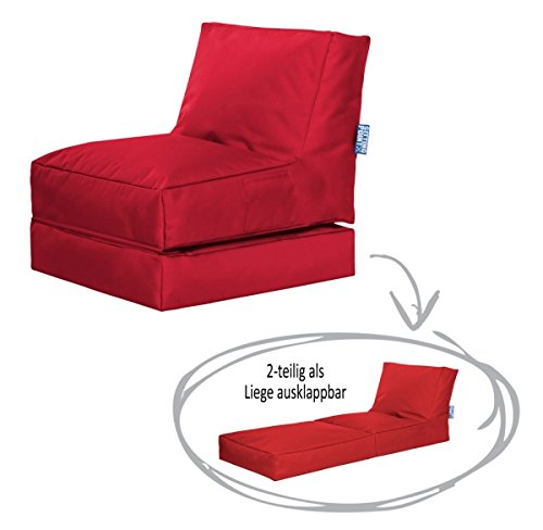 Sitzsack Scuba Twist rot