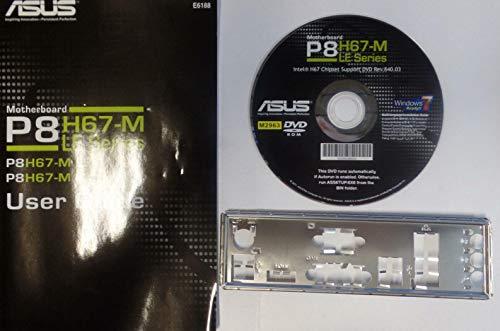 ASUS P8H67-M LE Handbuch - Blende - Treiber CD