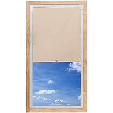 Tenda a pannello K Home 753–540–98–001tetto finestra individualmente, plastica, beige, 37x 90(L x H)