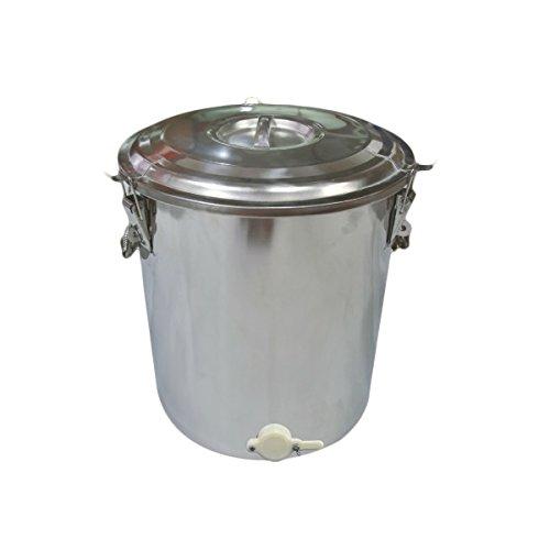 APIFORMES Honig Abfüllkübel 25kg | Honigeimer | Eimer | Honigernte | Schleudern | Honig | Bienen | Imkereibedarf