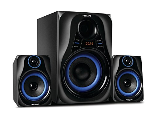 Philips Dhoom MMS2580B/94 Home Theater System (Blue)