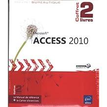 Access 2010 - Coffret de 2 livres : Le Manuel de référence + le Cahier d'exercices