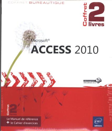 Access 2010 - Coffret de 2 livres : Le Manuel de référence + le Cahier d'exercices par Pierre RIGOLLET
