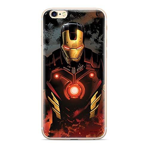 Finoo Handyhülle Kompatibel für iPhone 6/6S - Marvel Handyhülle mit Motiv und Optimalen Schutz TPU Silikon Tasche Case Cover Schutzhülle - Iron Man V6