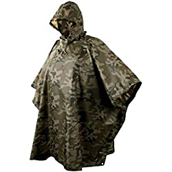 Army Waterproof Hooded Poncho Basha Helikon Polish Camo by Helikon