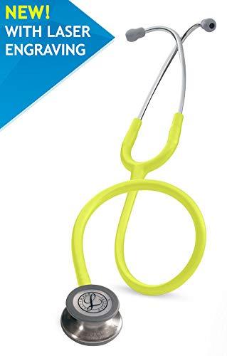 3MTM Littmann® Classic IIITM Stethoskop zur Überwachung mit Kostenlos Lasergravur (Zitronengelb - 5839)